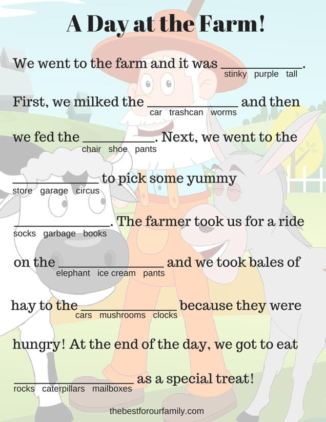 A Day at the Farm! copy