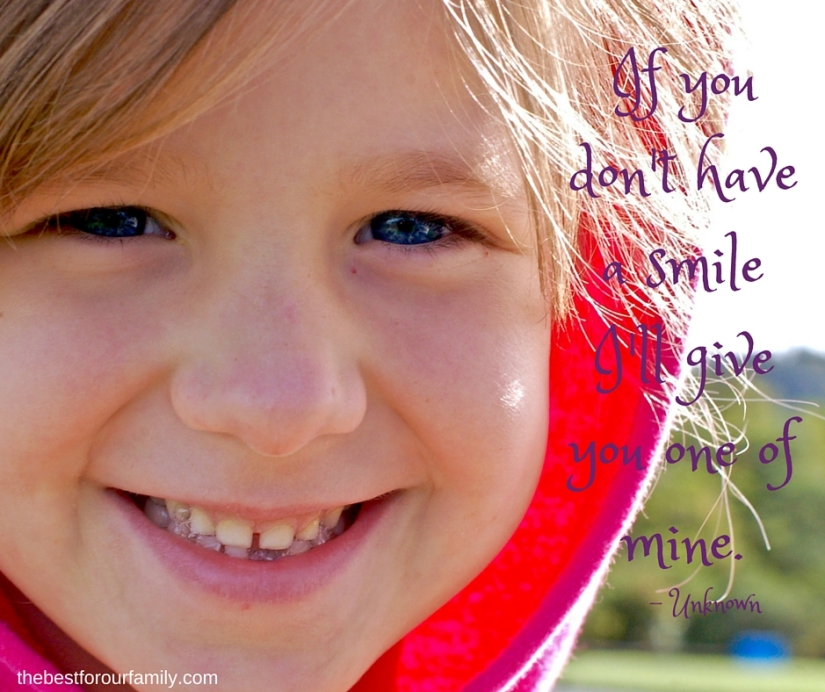 If you don't have a smile I'll give you one of mine.
