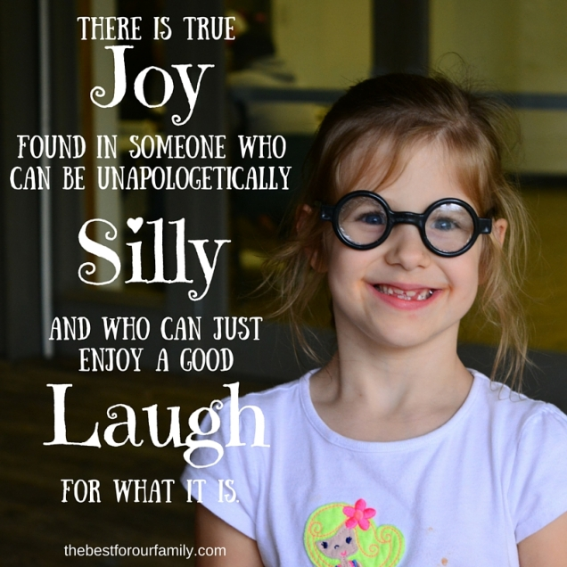 There is true joy