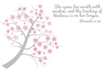 Proverbs 31-26 Notecard